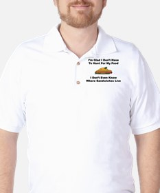 Sandwiches Golf Shirt