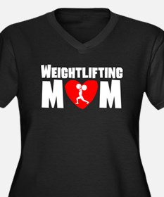 Weightlifting Mom Plus Size T-Shirt