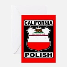 California Polish American Greeting Cards