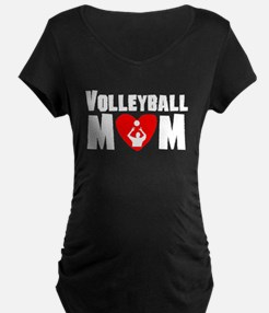 Volleyball Mom Maternity T-Shirt