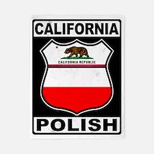 California Polish American Twin Duvet