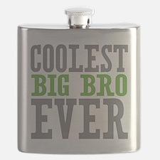 Coolest Big Bro Ever Flask