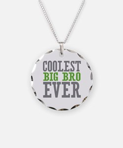 Coolest Big Bro Ever Necklace