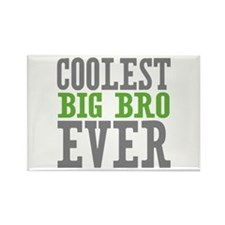 Coolest Big Bro Ever Rectangle Magnet (10 pack)