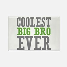 Coolest Big Bro Ever Rectangle Magnet