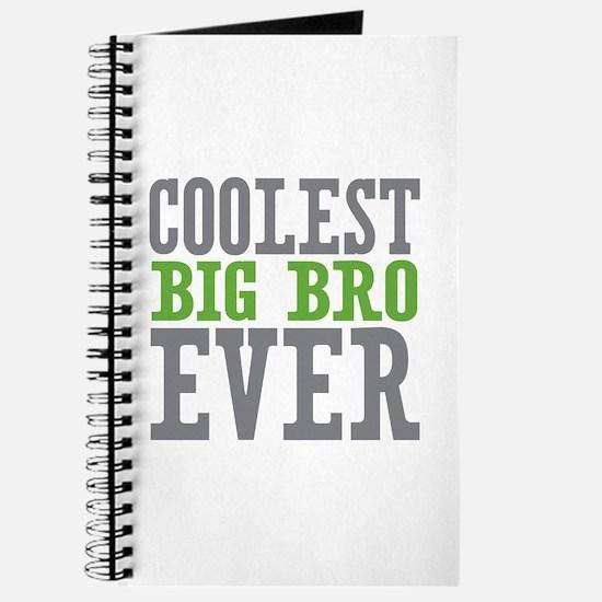 Coolest Big Bro Ever Journal