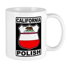 California Polish American Mugs