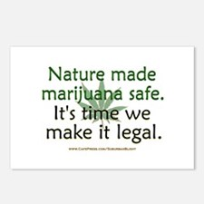 """Nature Made Marijuana Safe"" Postcards (Package of"