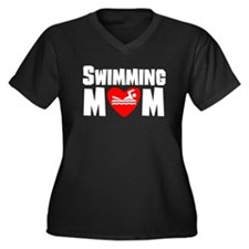 Swimming Mom Plus Size T-Shirt