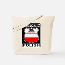 California Polish American Tote Bag