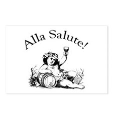 Alla Salute Postcards (Package of 8)