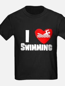 I Heart Swimming T-Shirt
