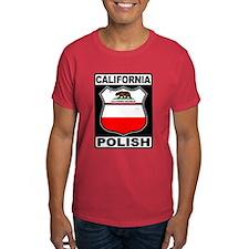 California Polish American T-Shirt