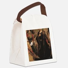 Cute Gowns Canvas Lunch Bag