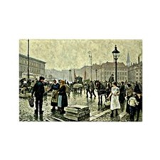 Paul-Gustave Fischer - Fish Marke Rectangle Magnet