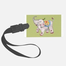 Cute Elephant Luggage Tag