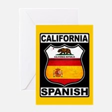 California Spanish American Greeting Cards