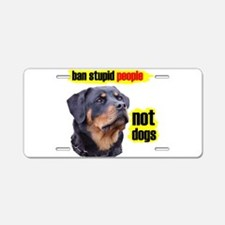 stupidpeople.jpg Aluminum License Plate