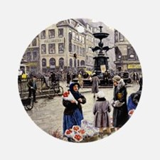 Paul-Gustave Fischer - A Bunch of R Round Ornament