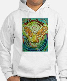 Rainbow Cancer Angel Hoodie