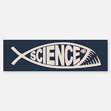 Science Fish II Bumper Bumper Sticker