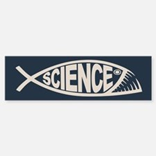 Science Fish II Car Car Sticker
