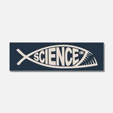 Science Fish II Car Magnet 10 x 3
