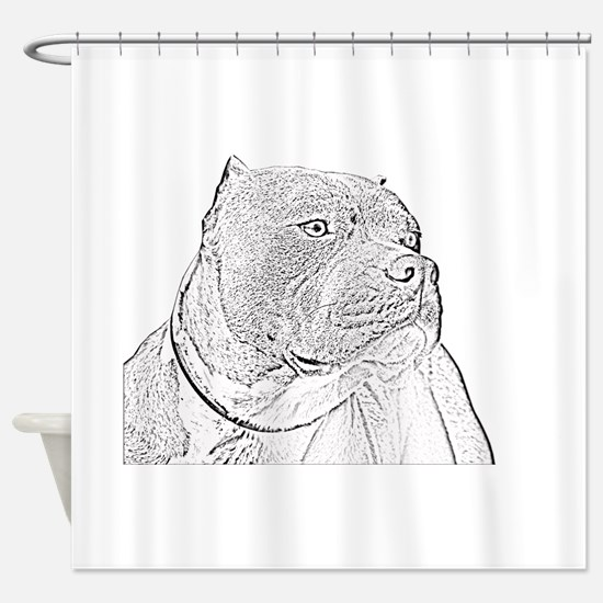 gotti3big.psd Shower Curtain