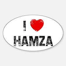 I * Hamza Oval Decal