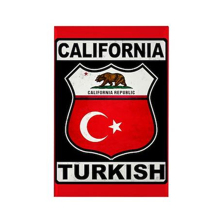 California Turkish American Magnets