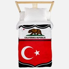 California Turkish American Twin Duvet