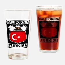 California Turkish American Drinking Glass
