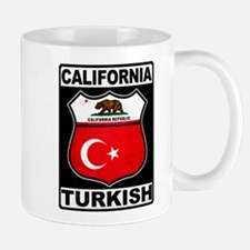 California Turkish American Mugs