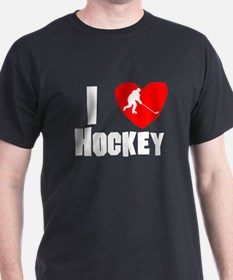 I Heart Hockey T-Shirt