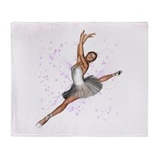 Ballet Throw Blanket