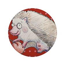 "Cute Hedgehog 3.5"" Button"