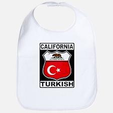 California Turkish American Bib