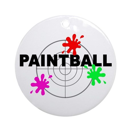 Paintball Paintball Ornament (Round)