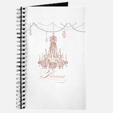Princess Chandelier Girly Jewel Pearl Design Journ