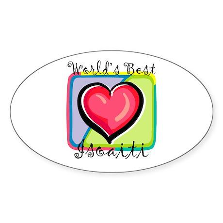 WB Grandma [Finnish] Oval Sticker