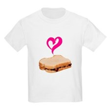 I Love Peanut butter and Jelly Sandwich T-Shirt