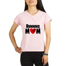 Running Mom Performance Dry T-Shirt
