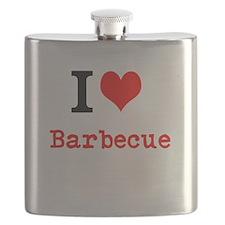 I love Barbecue Flask