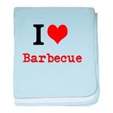 I love Barbecue baby blanket