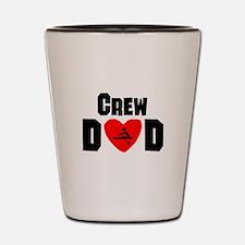 Crew Dad Shot Glass
