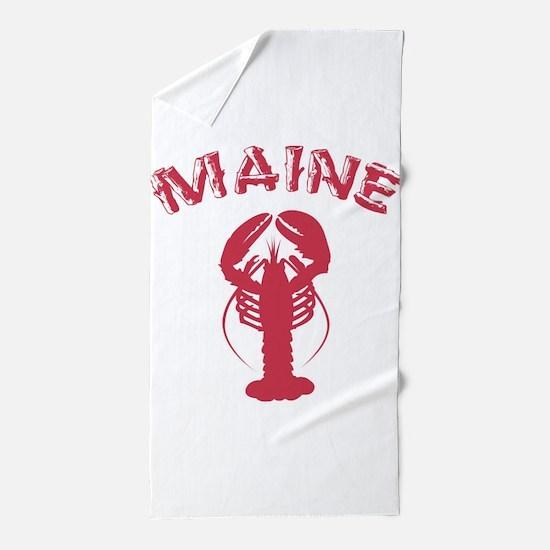 Maine Lobster Beach Towel