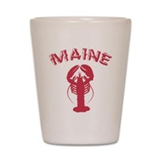Maine Lobster Shot Glass