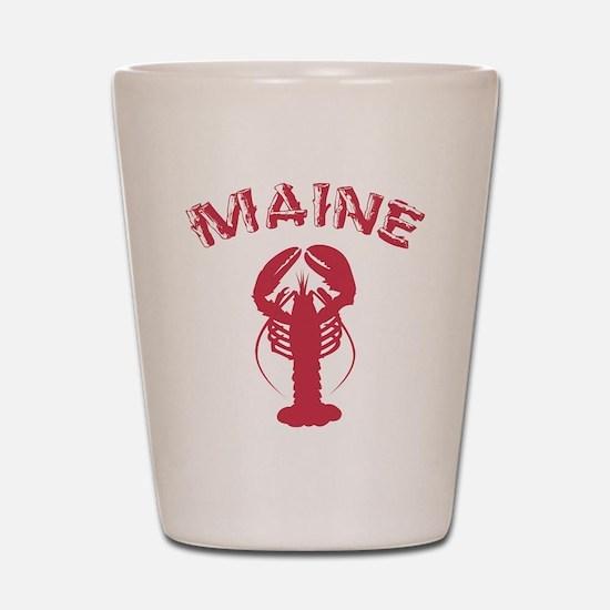 Maine Lobster Shot Glass