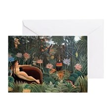 Henri Rousseau The Dream Greeting Card