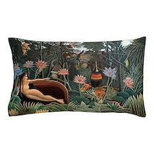 Henri Rousseau The Dream Pillow Case